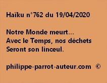 Haïku n°762 190420