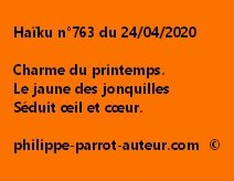Haïku n°763 240420