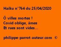Haïku n°764 250420