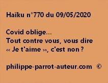 Haïku n°770 090520