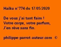 Haïku n°774 170520