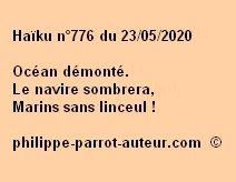Haïku n°776 230520