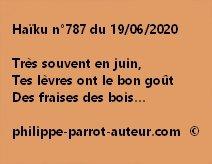 Haïku n°787 190620