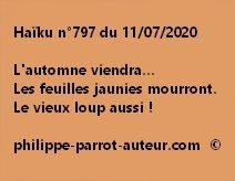 Haïku n°797 110720