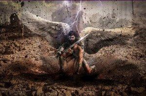 421 - L'aigle et l'archange