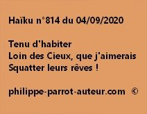 Haïku n°814 040920