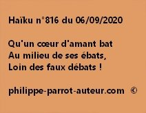 Haïku n°816 060920