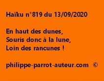 Haïku n°819 130920