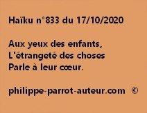 Haïku n°833 171020
