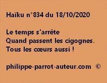 Haïku n°834 181020