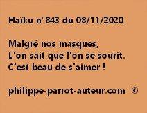 Haïku n°843 081120
