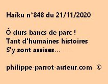 Haïku n°848 211120