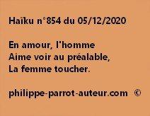 Haïku n°854 051220