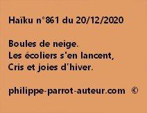 Haïku n°861 201220