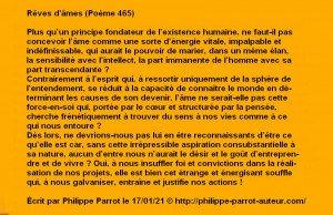 A - 465 - Rêves d'âmes