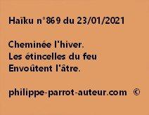 Haïku n°869 230121