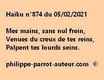 Haïku n°874 050221