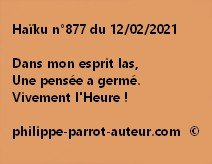 Haïku n°877 120221