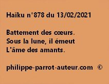 Haïku n°878 130221