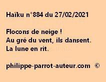 Haïku n°884 270221