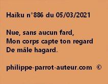 Haïku n°886 050321