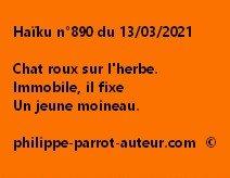 Haïku n°890 140321