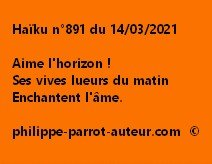 Haïku n°891 140321