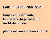 Haïku n°893 200321