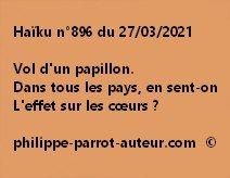 Haïku n°896 270321