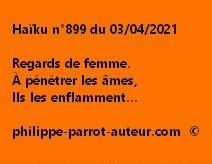 Haïku n°899 030421