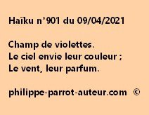 Haïku n°901 090421