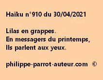 Haïku n°910 300421