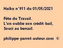 Haïku n°911 010521