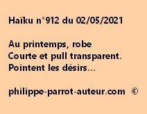 Haïku n°912 020521