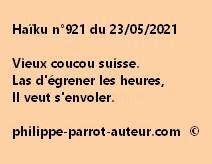 Haïku n°921 230521