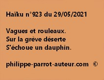 Haïku n°923 290521