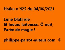 Haïku n°925 040621