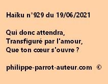 Haïku n°929 190621