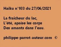 Haïku n°933 270621