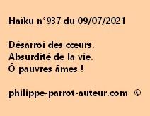 Haïku n°937 090721