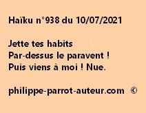 Haïku n°938 100721