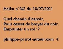 Haïku n°942 180721