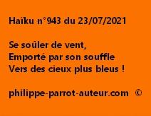 Haïku n°943 230721