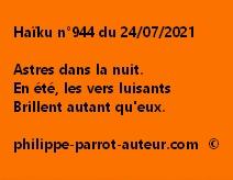 Haïku n°944 240721