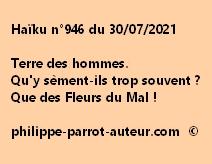 Haïku n°946 300721