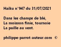 Haïku n°947 310721