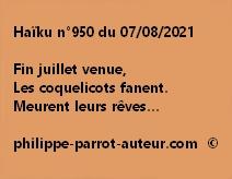 Haïku n°950 070821