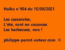 Haïku n°954 150821