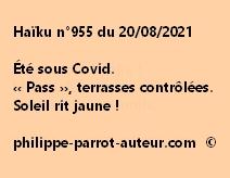 Haïku n°955 200821