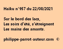 Haïku n°957 220821